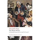 "The Major Works: including The Rape of the Lock and The Dunciad (Oxford World's Classics)von ""Pat Rogers"""