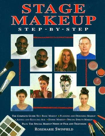 Stage Makeup Step-by-Step, Rosemarie Swinfield