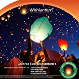 Eco Colored Wishlantern Pack of 10 (Individually Wrapped) ~ Wishlantern�