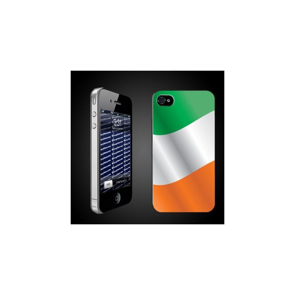 St. Patricks Day Irish Design Flag of Ireland   iPhone Hard Case   CLEAR Protective iPhone 4/iPhone 4S Case.