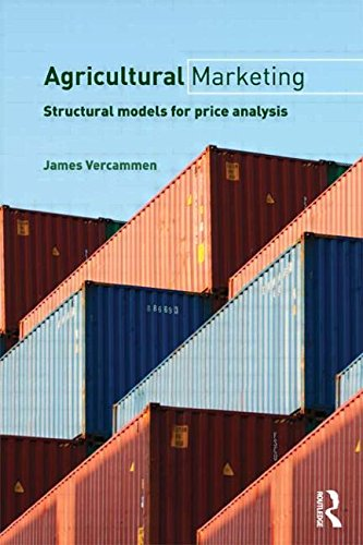 Agricultural Marketing: Structural Models for Price...