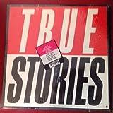 TALKING HEADS True Stories LP SHRINK Hype Sticker 1986 255121