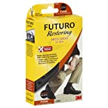 Futuro Restoring Socks, Dress, Over the Calf, Medium, Black