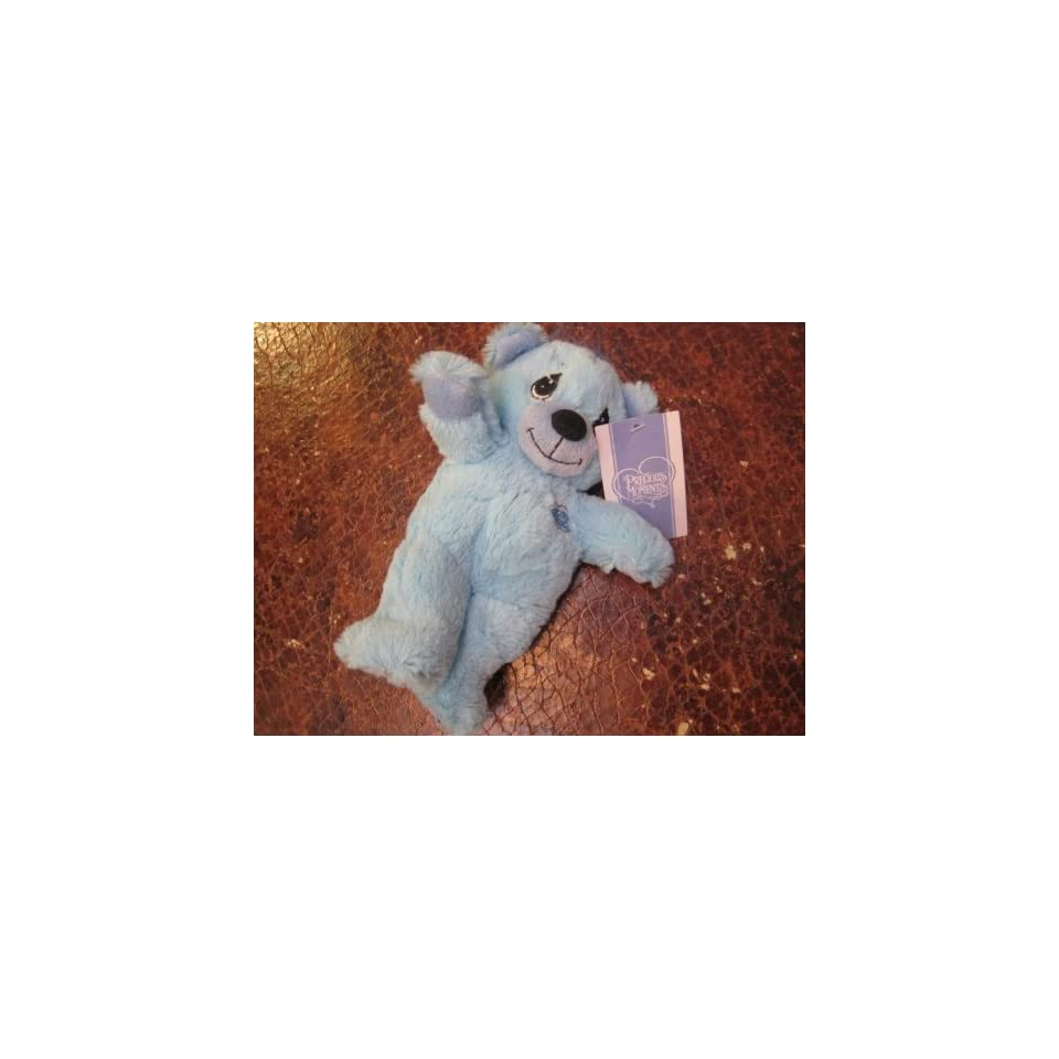 Precious Moments Teddy Bear Blue 8 Teddy Plush
