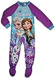 Disney Little Girls Frozen Footed Blanket Sleeper Pajama