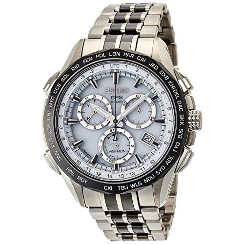 [セイコー]SEIKO 腕時計 ASTRON アストロン第2世代 ホワイトダイヤル チタン ソーラーGPS衛星電波修正 サファイアガラス スーパークリア コーティング 日常生活用強化防水 (10気圧) SBXB001 メンズ