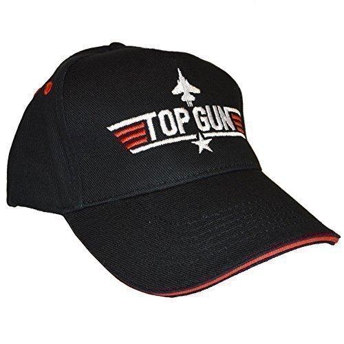 Top Gun Embroidered Adults Baseball Cap by Beechfield.
