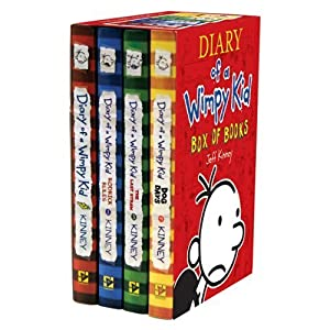 See Diary of a Wimpy Kid Box of Books [Box set] [Hardcover] Full size and View details