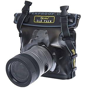 Dicapac USA Inc. WP-S10 Waterproof Case for Compact Digital Cameras (Dark Brown)