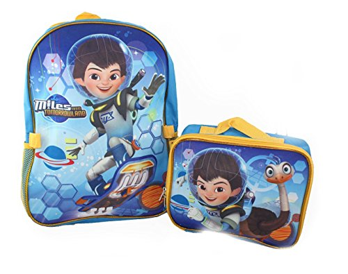 Backpack - Disney - Mile Away from Tomorrow w/Lunch Bag New 054976 by Disney
