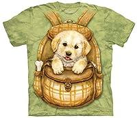 Puppy Backpack - Welpe im Rucksack - Kinder-T-Shirt von The Mountain von The Mountain