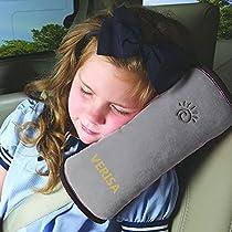 Wolf Moon® Children Baby Safety Strap Soft Headrest