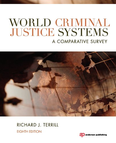 World Criminal Justice Systems, Eighth Edition: A Comparative Survey