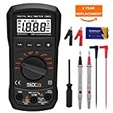 Multimeter Tacklife DM03S Digital Multimeter Auto Ranging Electronic Measuring tool AC / DC Voltage, Current, Frequency, Resistance, Capacitance, Diode, Continuity Tester with Screwdriver