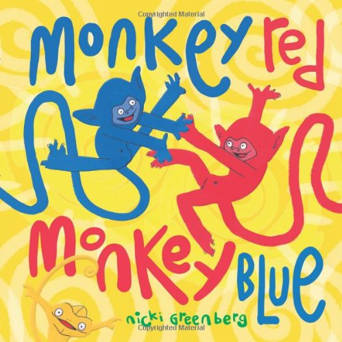 Monkey Red, Monkey Blue, Greenberg, Nicki