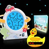 Gro Clock Sleep Trainer with Story Book, Little Aliens Clock Face & Duck Bath Thermometer Card - Updated Version of the Gro Clock - NEW VERSION