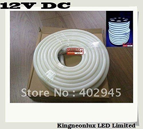 10M Per Roll Led Neon Flex White 12V Dc Led Soft Neon Light Led Neon Rope Light 80Pcs/M Dhl Express