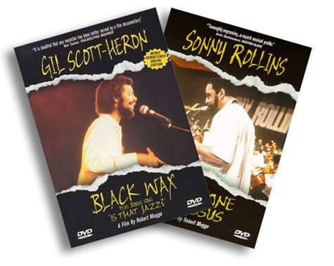 Sonny Rollins Saxophone Colossus / Gil Scott-Heron Black Wax (Two Pack) [DVD] [Import]