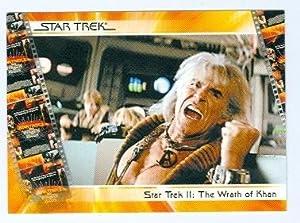 Khan Ricardo Montalban trading card Star Trek 2007 #14 Wrath of Khan