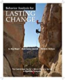 img - for Behavior Analysis for Lasting Change by G. Roy Mayer (2011-02-24) book / textbook / text book
