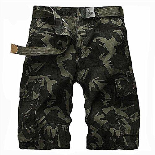 kk-military Camouflage Outdoor Estate grandi cantieri in cinque dritto uomo casual pantaloni (senza cintura), 2, 33