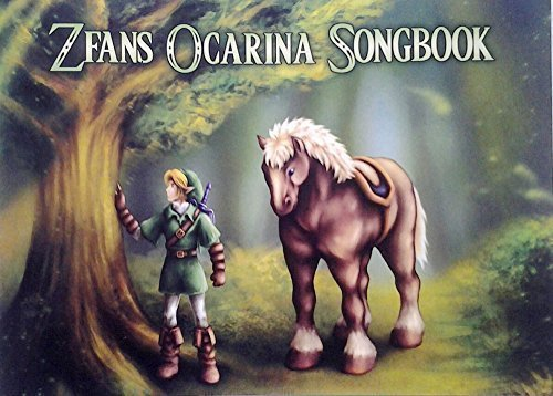 Legend of Zelda Standard Notation Edition Songbook for 12, 7 & 6 hole Ocarinas