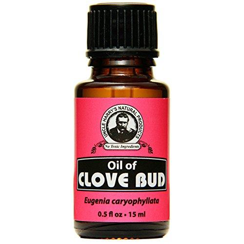 Uncle Harry's Natural Clove Bud Oil (0.5 fl oz)