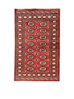 L'Eden del Tappeto Alfombra Kashmir L/Australia Rojo / Multicolor 92 x 148 cm