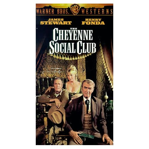 Amazon.com: The Cheyenne Social Club [VHS]: James Stewart