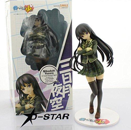 "Flying Cola 9"" Boku Wa Tomodachi Ga Sukunai Mikazuki Yozora Wear Uniform 23Cm Boxed Pvc Action Figure Model Collection Figure"