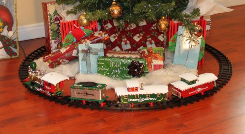 When They Look Back On All The Holidays, Finding A Christmas Tree Train Set  Running Under The Tree Will Be One Of Their Fondest Memories.