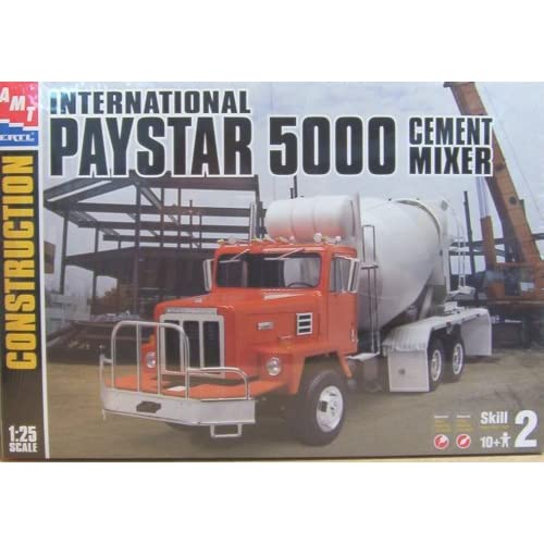AMT International PAYSTAR 5000 Cement Mixer Truck Model Kit 1:25 Scale