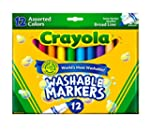 Crayola 12 Ct Ultra-Clean Washable Ma...