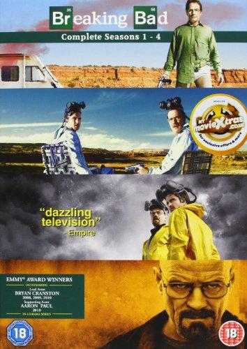 Breaking Bad - Season 01 / Breaking Bad - Season 02 / Breaking Bad - Season 03 / Breaking Bad - Season 04 - Set (Breaking Bad Season 1 Dvd compare prices)