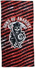 Sons of Anarchy Stars and Stripes Beach Towel