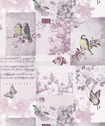 heather-11262-pajaro-cantor-musica-letras-rosa-patchwork-holden-decor-k2-papel-pintado-para-pared