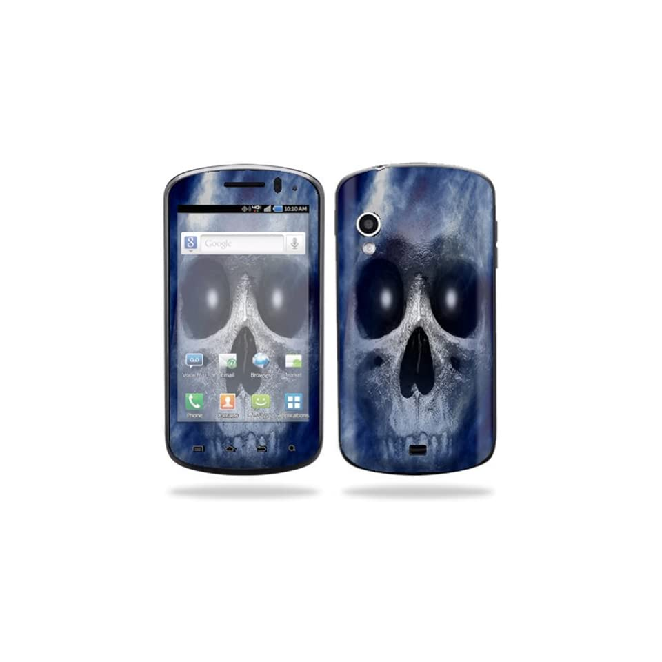 Mightyskins Protective Vinyl Skin Decal Cover for Samsung Stratosphere SCH i405 Cell Phone wrap sticker skins Haunted Skull