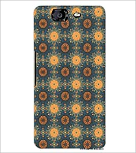 PrintDhaba Pattern D-5388 Back Case Cover for MICROMAX A350 CANVAS KNIGHT (Multi-Coloured)