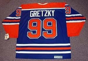 WAYNE GRETZKY Edmonton Oilers 1987 CCM Vintage Throwback Away Hockey Jersey, XL