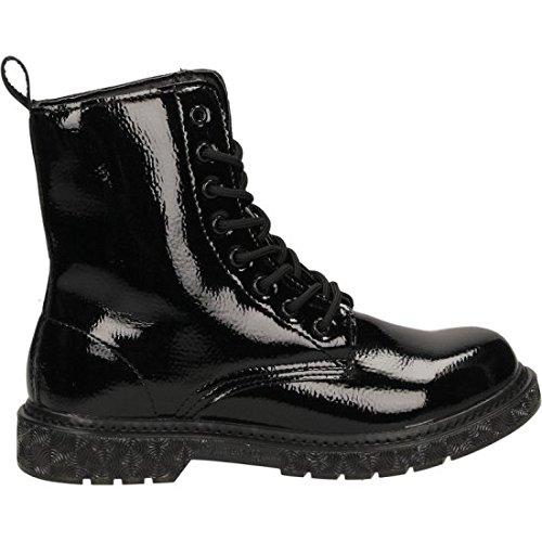 CafÈnoir Anfibi stivaletti nero scarpe donna FH913 41