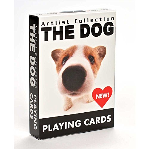 Discover Bargain Bicycle The Dog Artlist Collection Playing Cards