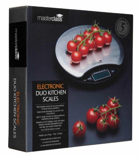 Kitchen Craft Master Class Balance électronique pour produits liquides et solides