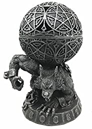 Chained Alpha Werewolf Lycan Markus Backflow Incense Burner Globe Aroma Figurine