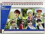 防弾少年団 (BTS)/2017年-2018年/卓上カレンダー+ポストカード12枚(+α)セット(K-POP/韓国製)