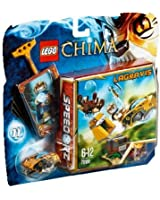 Lego Legends of Chima - Speedorz - 70108 - Jeu de Construction - L' attaque du Nid Royal
