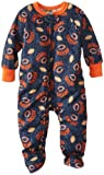 NFL Chicago Bears Boy's Blanket Sleepers, 3T, Blue at Amazon.com