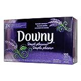 Downy(ダウニー) 乾燥機用柔軟シート シンプルプレジャー (ラベンダーセレニティ) 105枚入