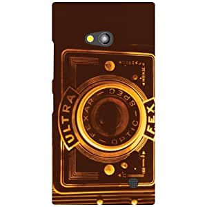 Nokia Lumia 730 Back Cover ( Designer Printed Hard Case)