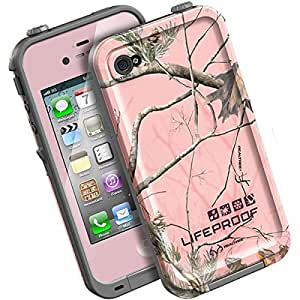 LifeProof Realtree AP Case for iPhone 4/4S - Retail Packaging - Pink (AP)
