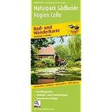 Rad- und Wanderkarte Naturpark Südheide - Region Celle: Mit Ausflugszielen, Einkehr- & Freizeittipps, reissfest, wetterfest, abwischbar, GPS-genau. 1:50000
